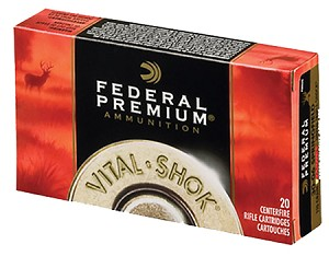 Federal Premium Vital-Shok 243 Win. 100gr Nosler Partition