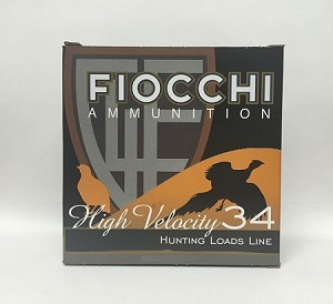 "Fiocchi Shooting Dynamics High Velocity 12ga 2-3/4"" 1-1/5oz  #8 Lead Shot"