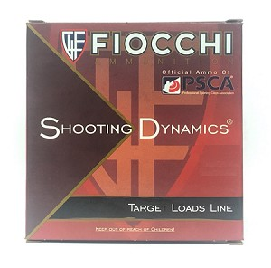 "Fiocchi Shooting Dynamics Target Load 20ga 2-3/4"" 7/8oz #8 Lead Shot"