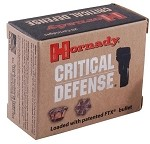 Hornady Critical Defense 9mm Luger 115gr FTX