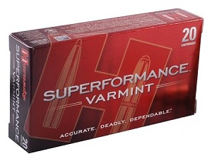 Hornady Superformance Varmint 222 Rem 50gr V-Max