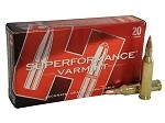 Hornady Superformance Varmint 243 Win 58gr V-Max