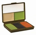 Hunter's Specialties Camo Compac 5-Color Woodland Military Makeup Kit