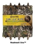 Hunter's Specialties Camo Leaf Blind (Realtree Xtra) (30' x 56'')