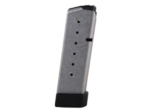 Kahr Arms CW45, P45 45 ACP Stainless Steel with Grip Extension 7 Rnds