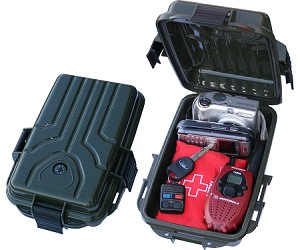 MTM Case-Gard Survivor Dry Box Small (Forest Green)