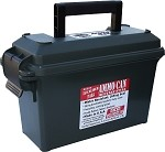 MTM Rugged 30 Caliber Narrow Ammo Can (Black)