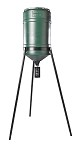 On Time Feeders Classic Lifetime Electronic Feeder with 200 lb. Tripod Hanger Hopper