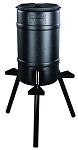 On Time Feeders Buckeye Gravity Feeder with 30 gal Tripod Hopper