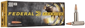 Federal Premium 300 WSM 180gr Nosler Partition (NP)