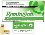 Remington UMC .45 ACP 185gr MC