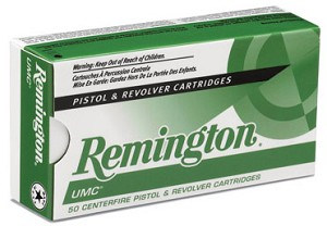 Remington UMC 32 ACP 71 gr FMJ 50 Rnds