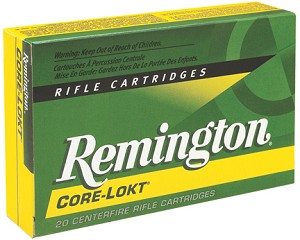 Remington Core-Lokt 25-06 Remington 100gr PSPCL