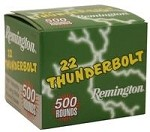 Remington Thunderbolt High Velocity 22 Long Rifle 40gr RN