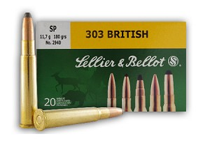 Sellier & Bellot 303 British 180gr SP