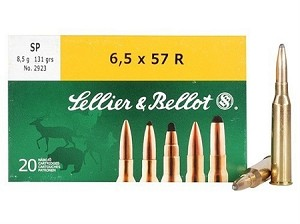 Sellier & Bellot 6.5 x 57 R 131gr SP