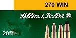 Sellier & Bellot 270 Win. 150gr SP