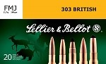Sellier & Bellot 303 British 180gr FMJ