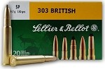 Sellier & Bellot 303 British 150gr SP