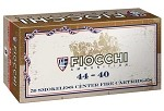 Fiocchi 44-40 Win 210gr Lead Round Nose Flat Point (LRNFP)