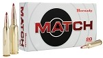 Hornady Match 6mm Creedmoor 108gr ELD