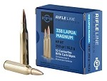 PPU 338 Lapua Mag 250gr Hollow Point Boat Tail (HPBT)