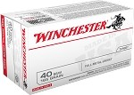 Winchester 40 S&W 165gr FMJ Value Pack