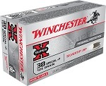 Winchester Super-X  38 Special 125gr Silvertip HP