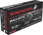 Winchester Ballistic Silvertip 30-30 Win 150gr Rapid Controlled Expansion Polymer Tip