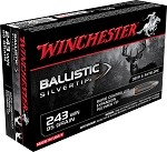 Winchester Ballistic Silvertip 243 Win 95gr Rapid Controlled Expansion Polymer Tip