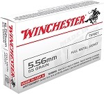 Winchester 5.56x45mm 55gr FMJ