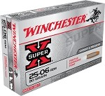 Winchester Super-X 25-06 Rem 90gr Positive Expanding Point 20 Rnds
