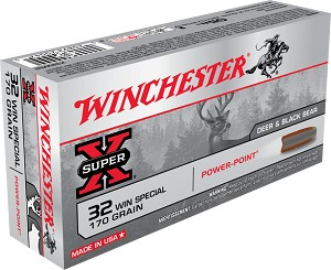 Winchester Super-X 32 Win Special 170 gr PSP
