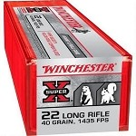 Winchester Super-X 22 Long Rifle 40gr Hyper Velocity HPCP